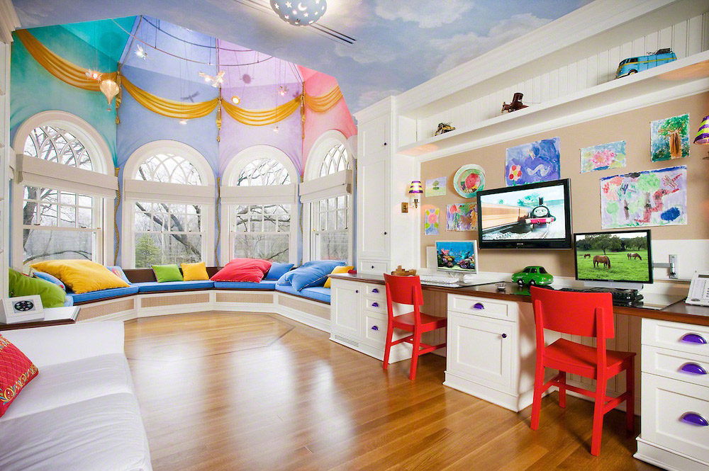 Modern Kids Playroom Furniture