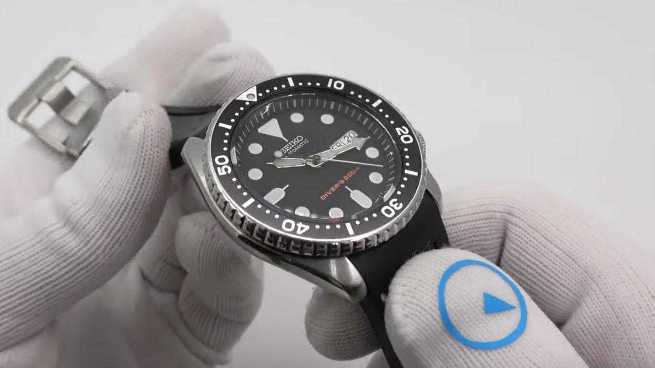 seiko rubber watch bands